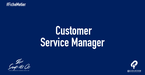 customer service manager m tier formation salaire