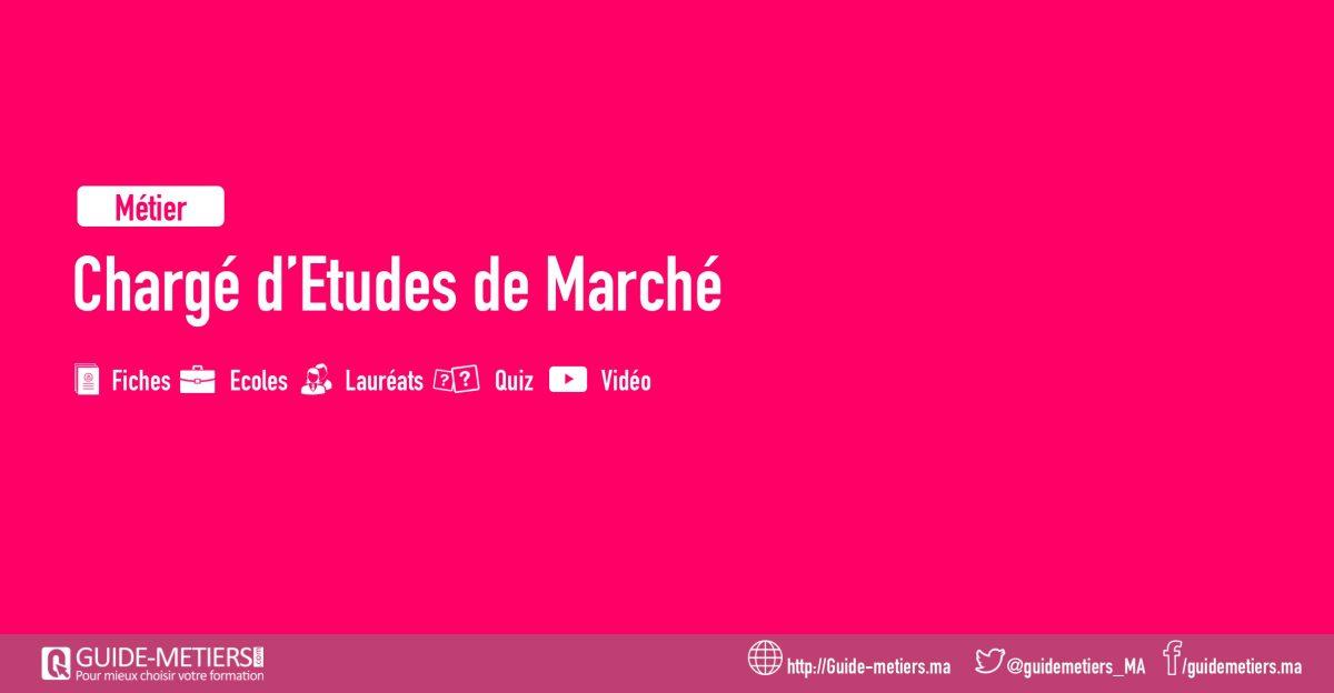 Charge D Etudes De Marche Metier Formation Salaire