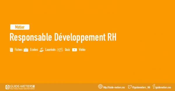 Responsable Developpement Rh Metiers Formation Salaire