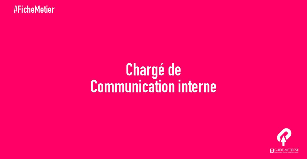 Charge De Communication Interne Metier Formation Salaires