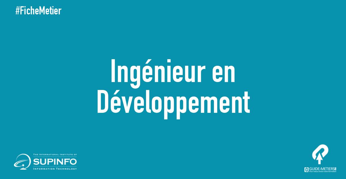 Ingenieur En Developpement Metiers Formation Salaire