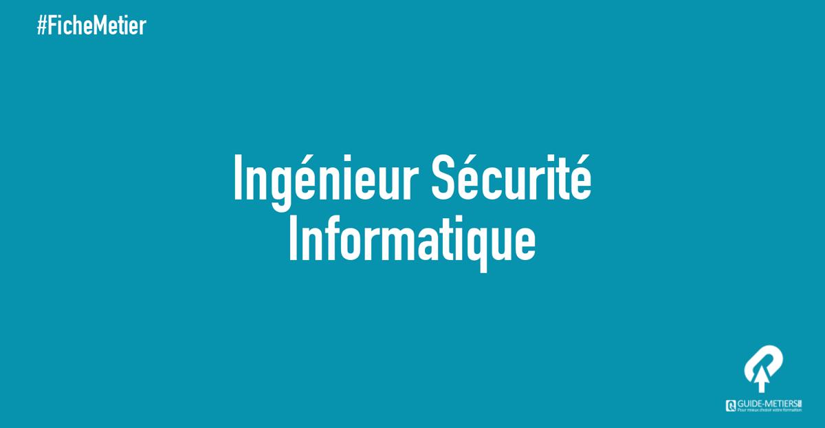 Ingenieur En Securite Informatique Metier Formation Salaire