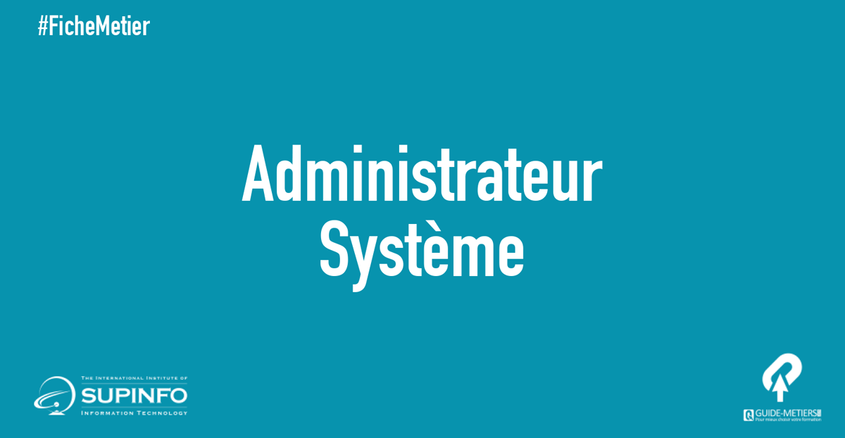 Administrateur Systeme Metier Formation Salaire