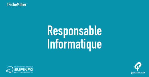 responsable informatique   m u00e9tier  formation  salaire