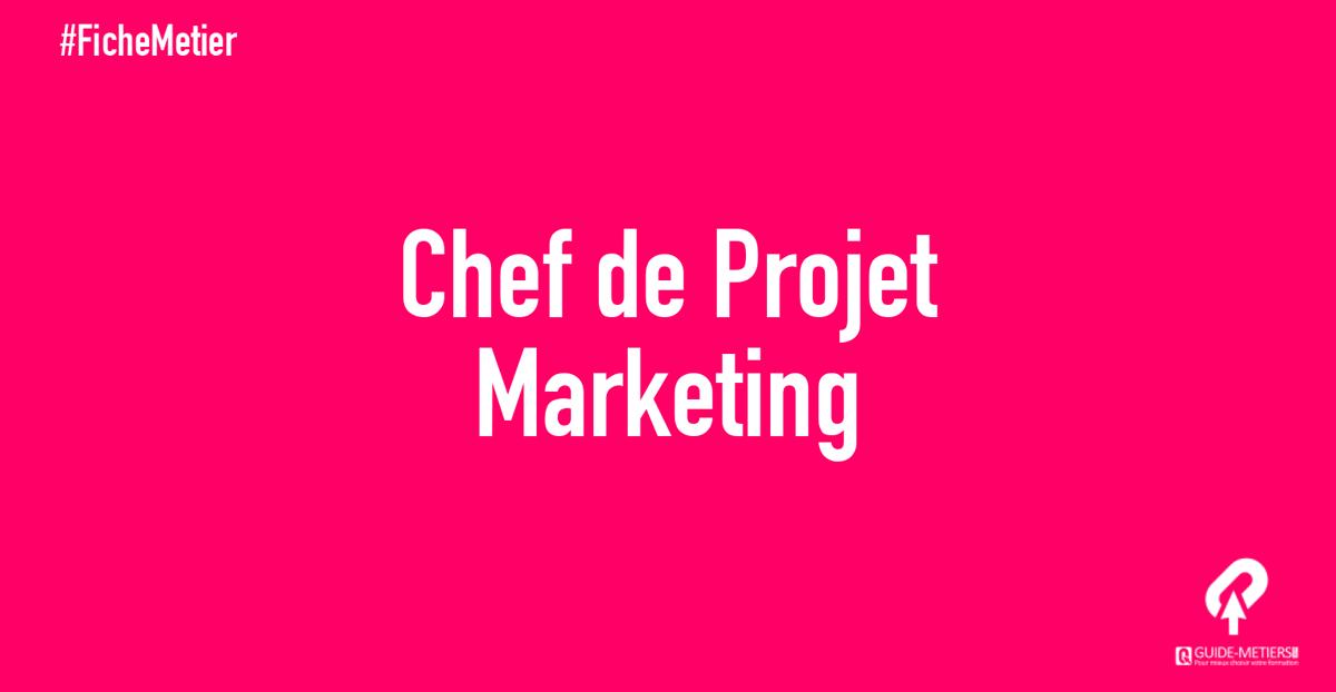 Chef De Projet Marketing Metier Formation Salaire
