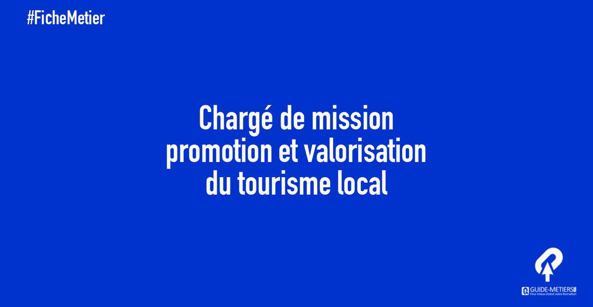 charg u00e9 de mission promotion et valorisation du tourisme