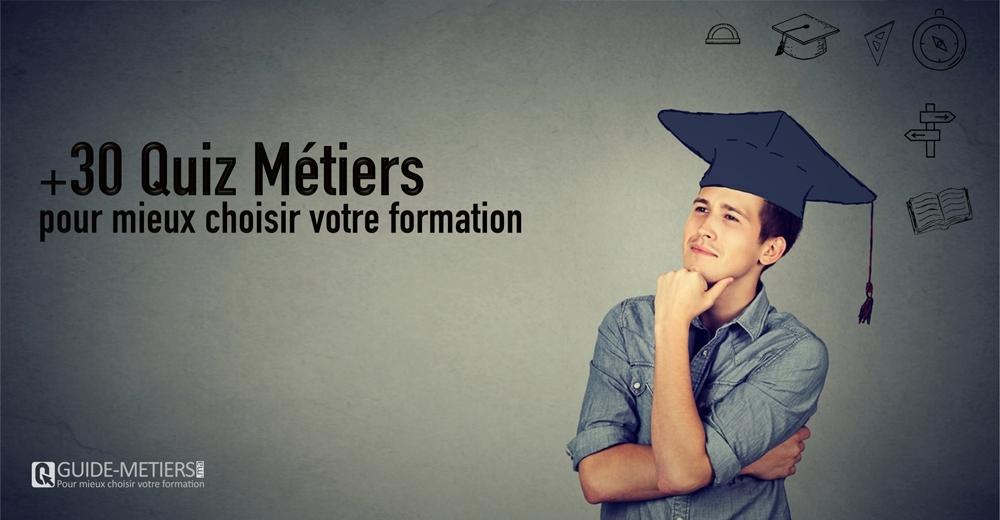 Quiz Métiers - Guide-metiers.ma